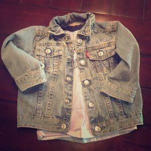 Levi Strauss & Co shirt & jacket 18 month old baby